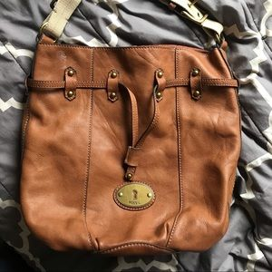 Fossil Slouchie Leather Bag
